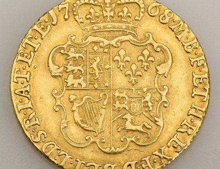Médaille avec la représentation d'une armoirie
